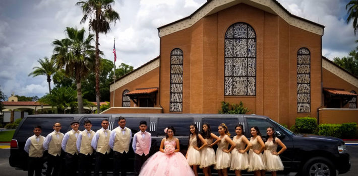 Quinceanera Limo